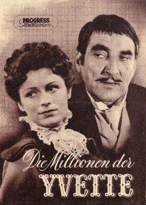 Progress Filmillustrierte, Die Millionen der Yvette, 1956