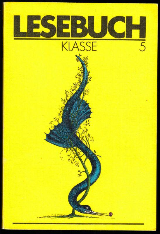 Schulbuch der DDR, Lesebuch, Klasse 5, 1988