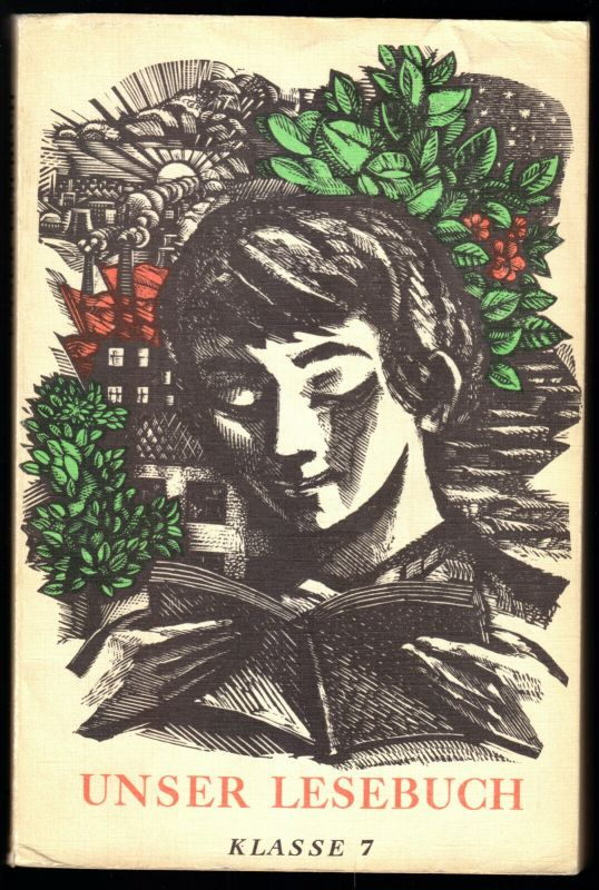 Schulbuch der DDR, Lesebuch, Klasse 7, 1981