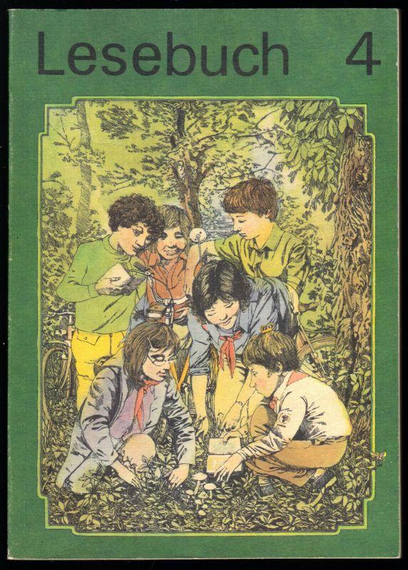 Schulbuch der DDR, Lesebuch, Klasse 4, 1990