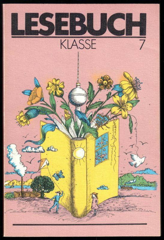 Schulbuch der DDR, Lesebuch, Klasse 7, 1987
