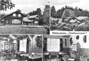 Ansichtskarte, Brotterode Thür. Wald, Waldschänke