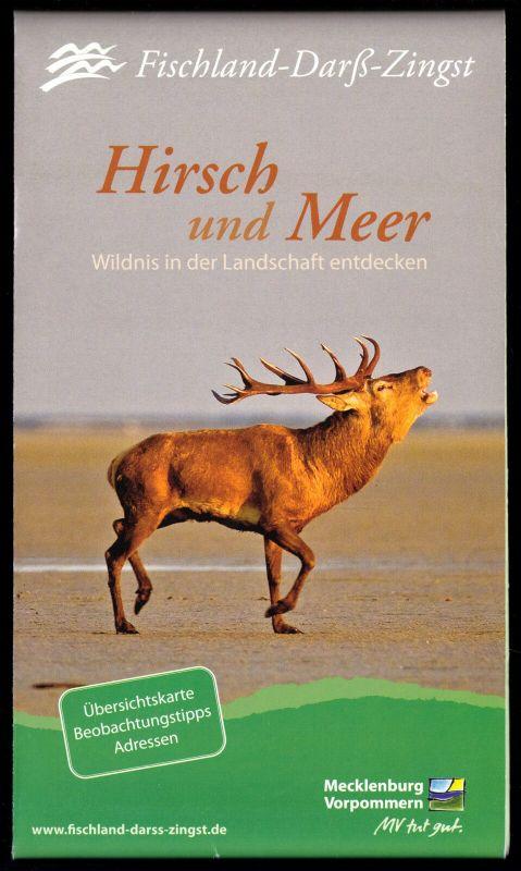 Ausflugskarte, Fischland - Darß - Zingst und Nordpommersche Waldlandschaft, 2012