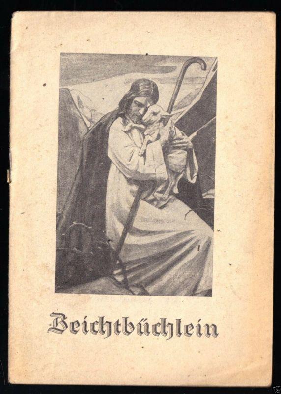 Beichtbüchlein, 1945