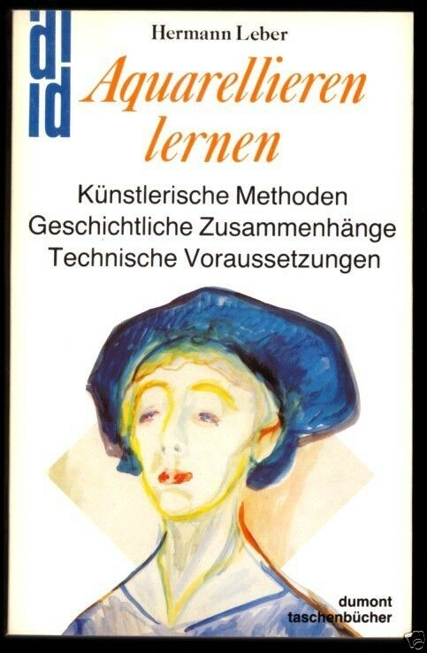 Leber, Hermann; Aquarellieren lernen, 1980
