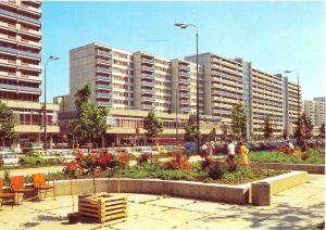 Ansichtskarte, Berlin Mitte, Partie in der Leipziger Str., 1982