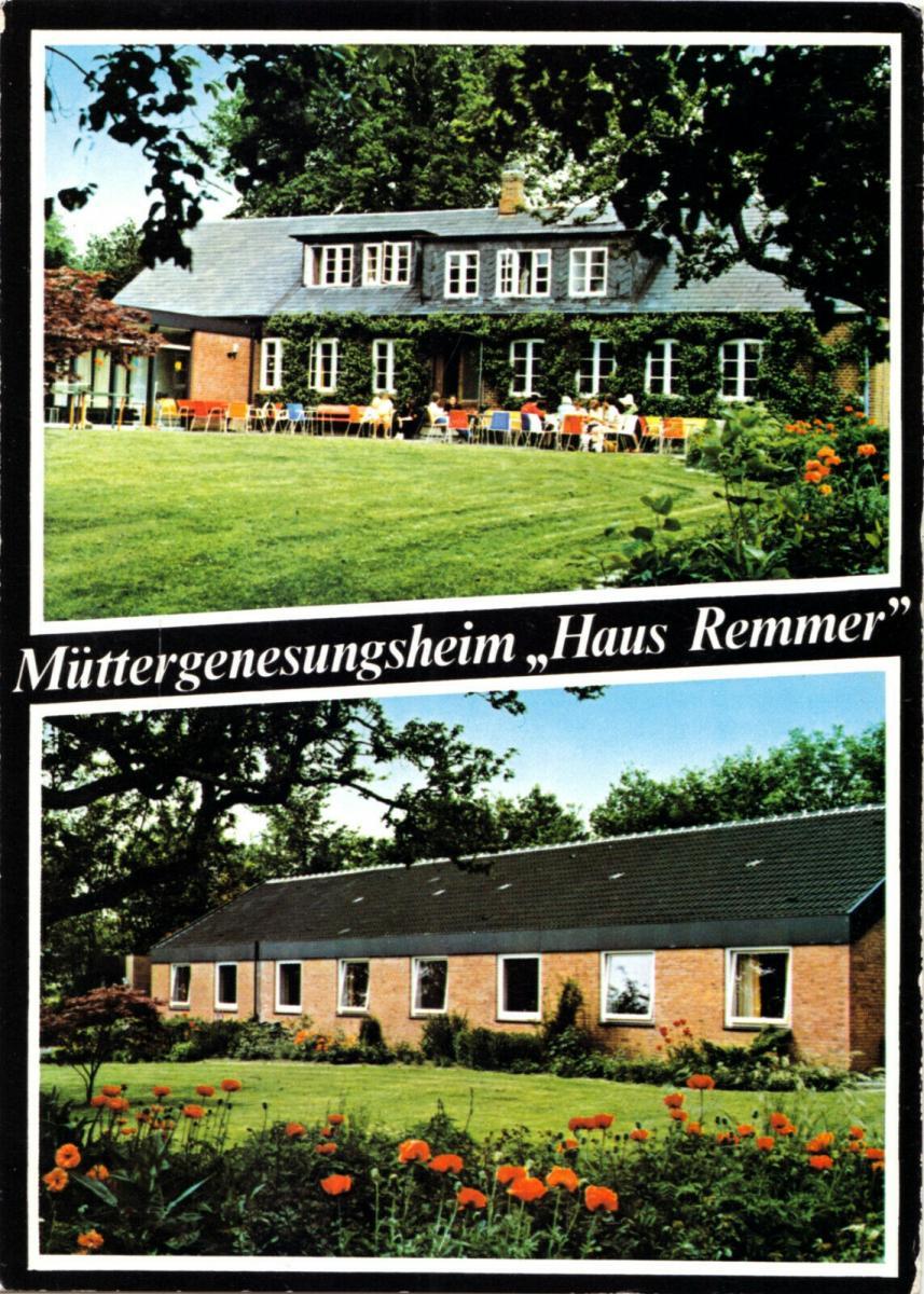 Ansichtskarte, Langballig, Müttergenesungsheim, Haus Renner, um 1978