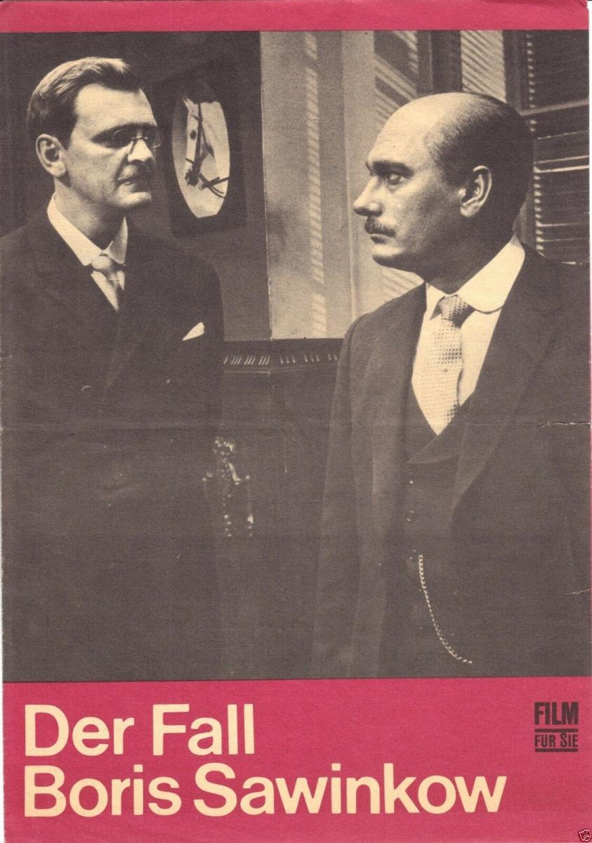 Film für Sie, Der Fall Boris Sawinkow, 37/70