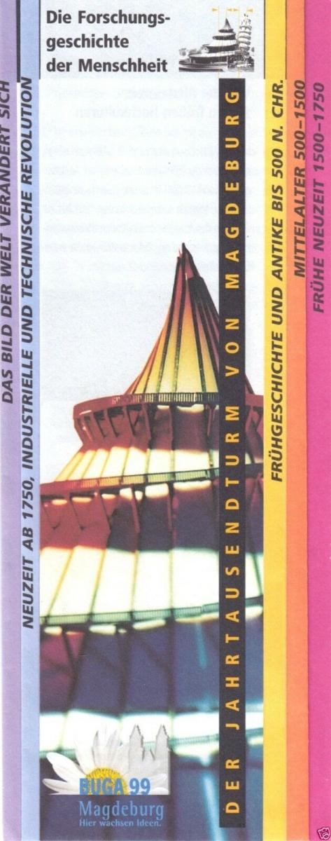 Prospekt, Magdeburg, Buga 1999, Der Jahrtausendturm von Magdeburg