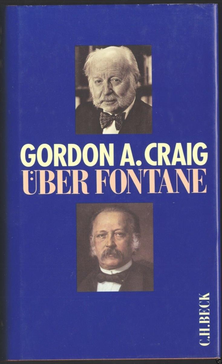 Craig, Gordon A.; Über Fontane, 1997