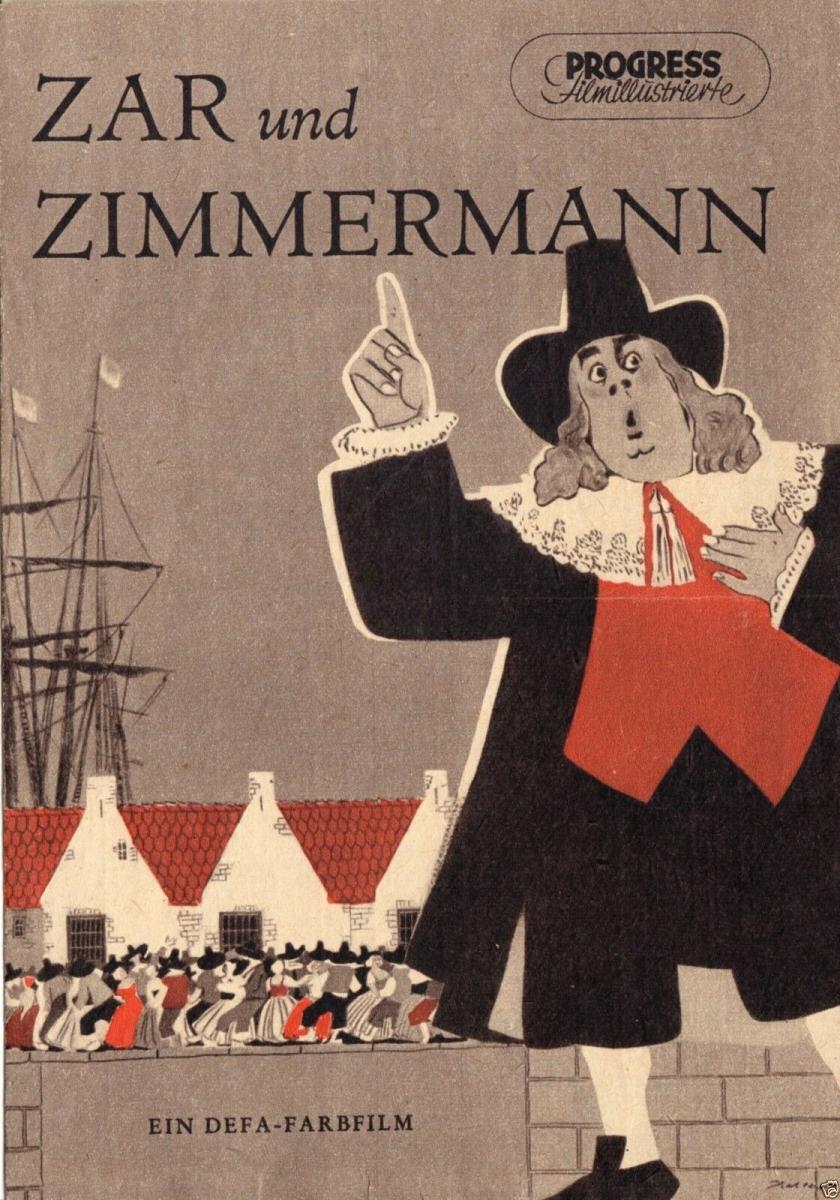 Progress Filmillustrierte, Zar und Zimmermann, 1956