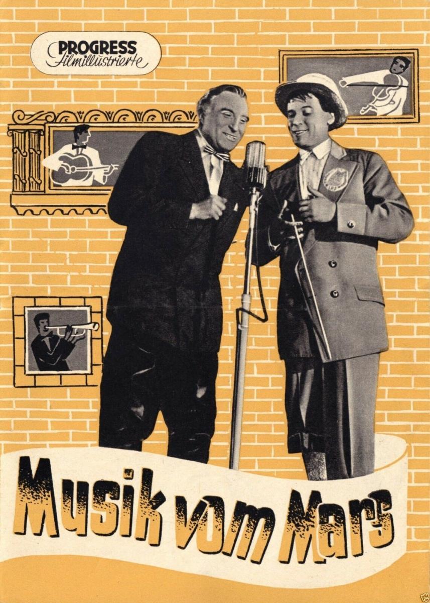 Progress Filmillustrierte, Musik vom Mars, 1956