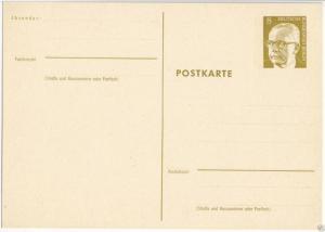 Ganzsache, Postkarte, Michel, Berlin P80, **