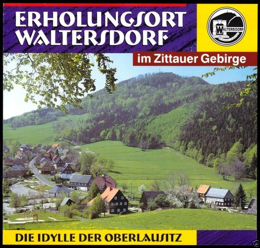 Tour. Broschüre, Erholungsort Waltersdorf Zittauer Geb., um 2000