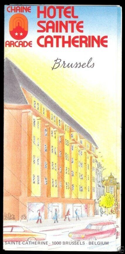 Prospekt, Hotel Sainte Catherine, Brüssel, um 1990