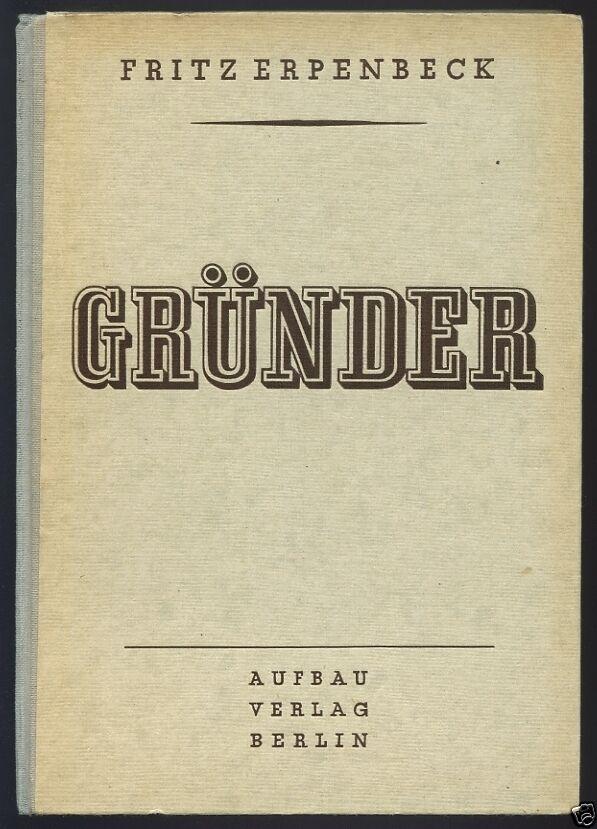 Erpenbeck, F., Gründer, 1946
