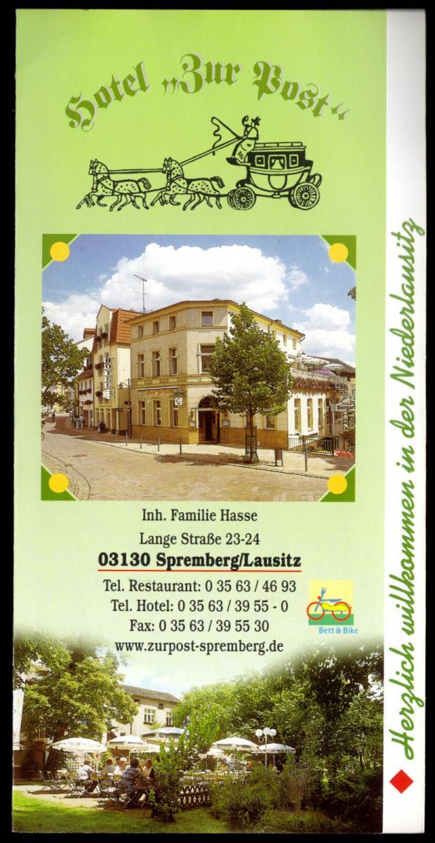 Prospekt, Spremberg, Hotel
