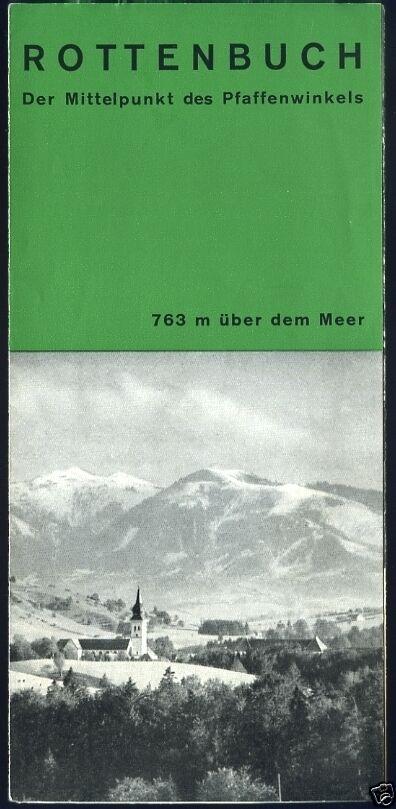 Prospekt, Rottenbuch, Bayern, ca. 1979
