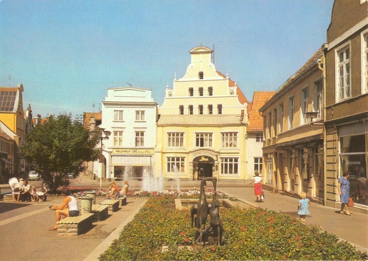 Ansichtskarte, Wismar, Krämerstr., 1986