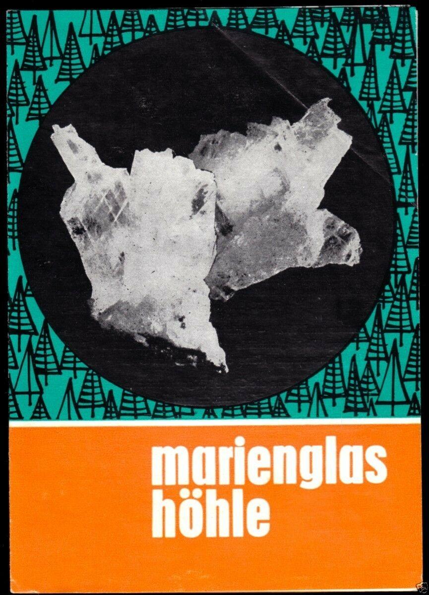 Prospekt, Friedrichroda Thür. Wald, Marienglashöhle, 1979