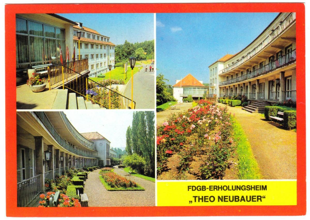 Ansichtskarte, Tabarz Thür. Wald, FDGB-Erholungsheim