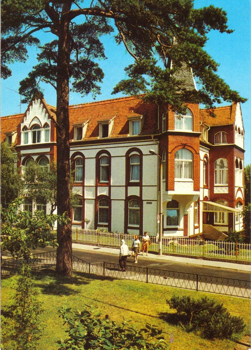 Ansichtskarte, Seebad Ahlbeck auf Usedom, Ferienheim