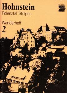 Wanderheft, Hohnstein - Polenztal - Stolpen, 1987