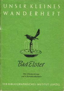 Wanderheft, Bad Elster, 1953