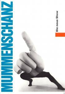 Programmheft, Künstleragentur der DDR, Mummemschanz - Die neue Show, 1987