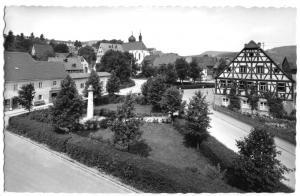 Ansichtskarte, Heiligenstadt Fränkische Schweiz, Teilansicht, um 1965