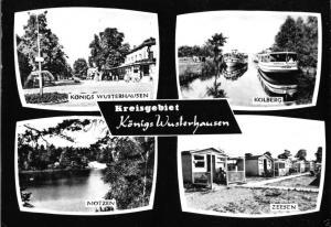 Ansichtskarte, Kreis Königs Wusterhausen, vier Abb., 1966