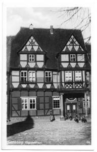 Ansichtskarte, Quedlinburg a. Harz, Klopstockhaus, um 1936