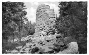 Ansichtskarte, Schierke Harz, Feuerstein, 1961
