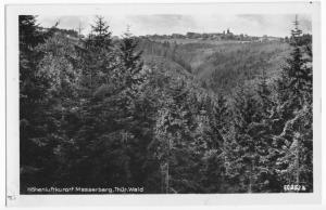 Ansichtskarte, Masserberg Thür. Wald, Gesamtansicht, 1956