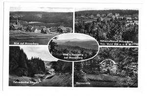 Ansichtskarte, Masserberg Thür. Wald, fünf Abb., 1956