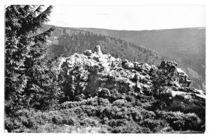 Ansichtskarte, Masserberg Thür. Wald, Hirschkanzel, 1959