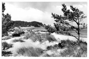 Ansichtskarte, Ostseebad Baabe Rügen, Strandpartie, 1965