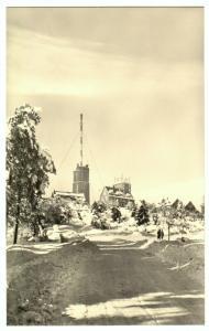 Ansichtskarte, Brotterode Thür. Wald, Inselsberg, Gipfelbebauung, 1960