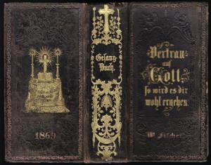 Evangeliches Gesangbuch, Preußen / Brandenburg, 1869