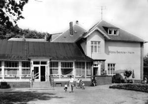 Ansichtskarte, Baabe Rügen, Hans-Beimler-Heim, 1967