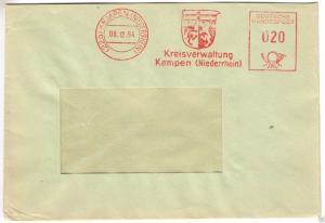 AFS, Kreisverwaltung Kempen,(22a)  Kempen (Niederrhein), 8.12.54