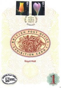 Großbritannien, British Post Office, Exhibition Card 1, o 13.6.87, Essen