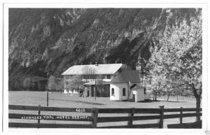 Ansichtskarte, Achensee Tirol, Hotel Seehof, Echtfoto, 1926