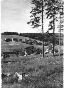 Ansichtskarte, Tellerhäuser Erzgeb., Teilansicht, 1964