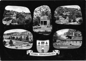Ansichtskarte, Bad Frankenhausen, Kyffh., sechs Abb., gestaltet, 1963