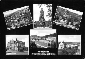 Ansichtskarte, Bad Frankenhausen, Kyffh., sechs Abb., gestaltet, 1965