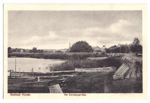 Ansichtskarte, Seebad Horst, Niechorze, Am Eursberger-See, um 1925