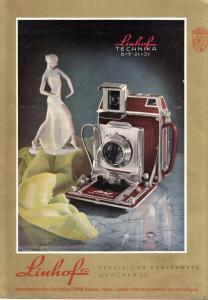 Zeitschriftenwerbung, Foto- u. Filmtechnik versch. dt. Firmen zehn Blatt, 1950er