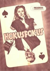 Progress Filmillustrierte, Hokuspokus, 1954