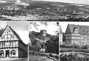 Ansichtskarte, Bad Frankenhausen Kyffh., vier Abb., 1984